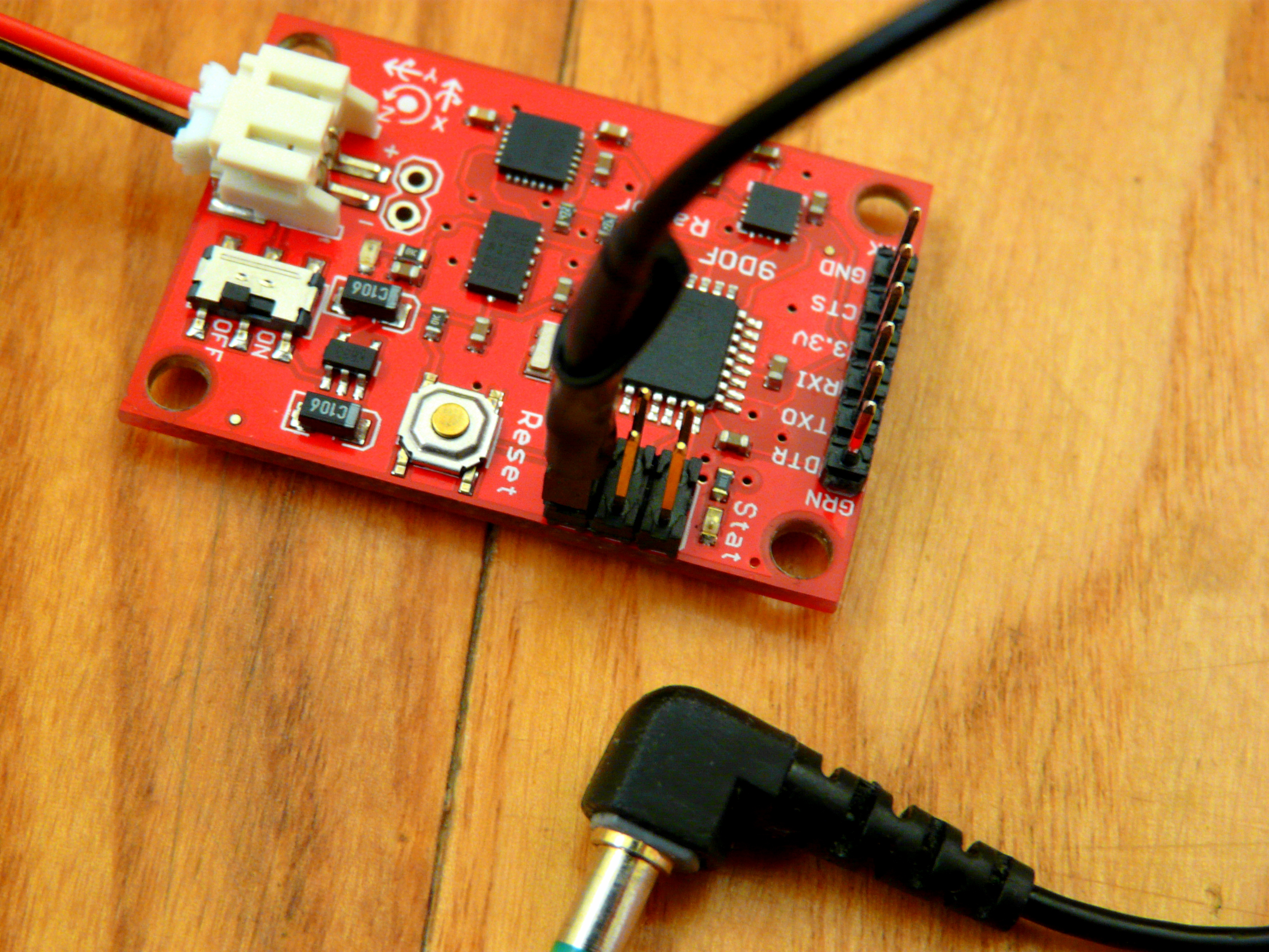 IMU-radio cable